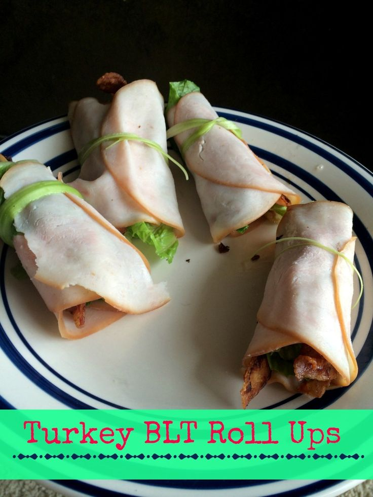 Turkey BLT Roll Ups - perfect for the days you want a simple 15 minute lunch. [grain free, dairy free, nut free]
