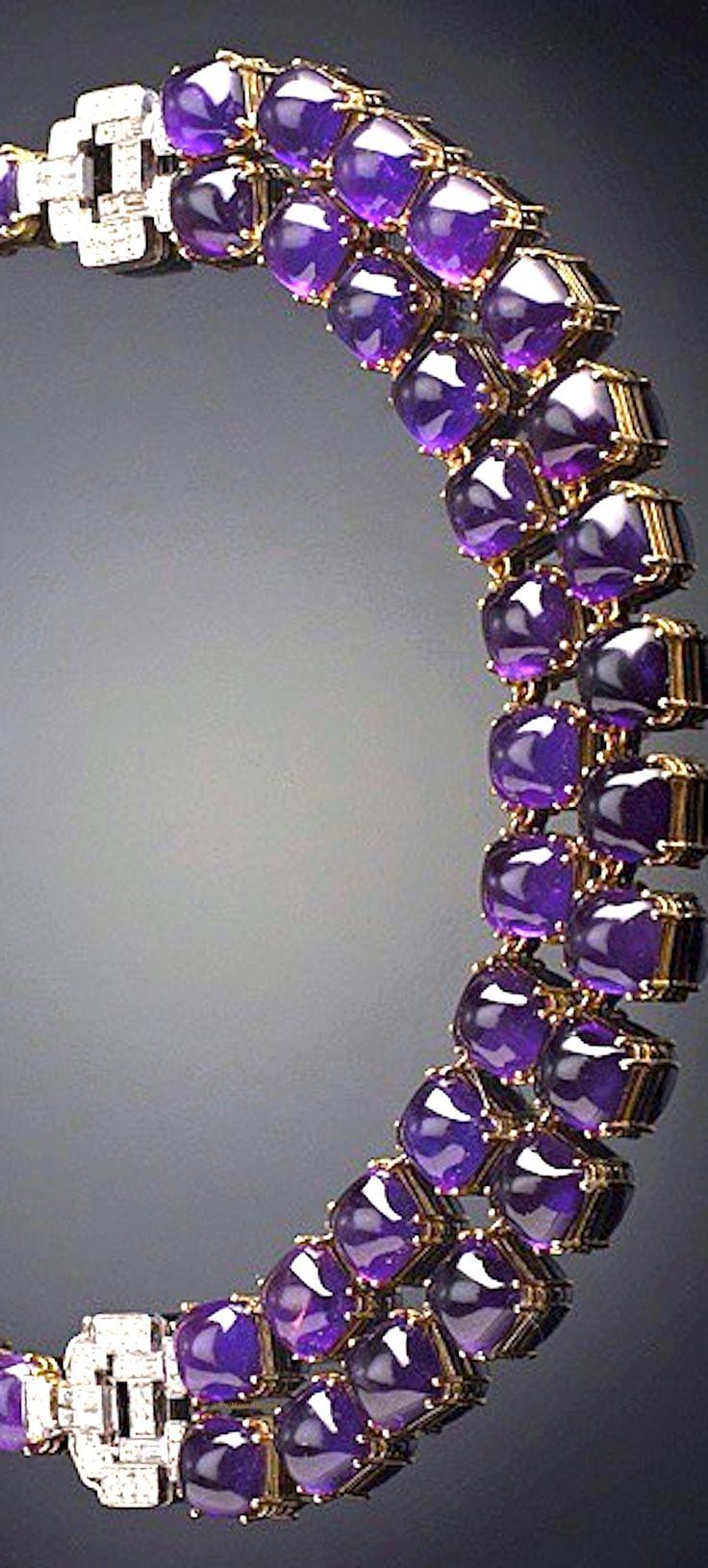 PURPLE RAIN- Veschetti necklace