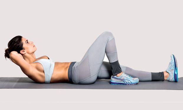 Treino de 10 minutos para zerar a barriga - Fitness - MdeMulher - Ed. Abril