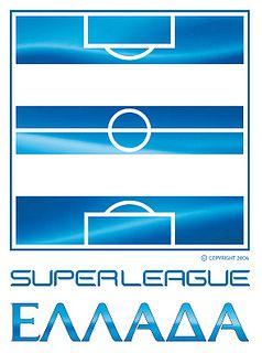 Superleague Greece (Σούπερ Λίγκα Ελλάδα) | Country: Greece / Ελλάδα. País: Grecia. | Founded/Fundado: 1927 | Badge/Crest/Logo/Escudo.