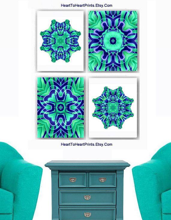 Best 25+ Teal wall art ideas on Pinterest | Teal wall ...