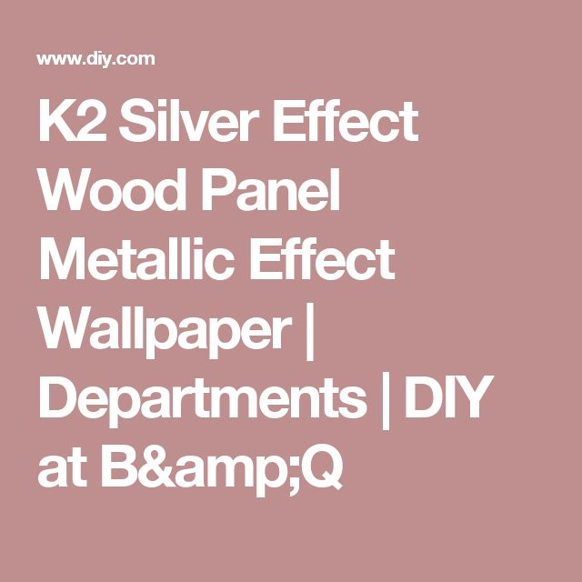 K2 Silver Effect Wood Panel Metallic Wallpaper Dining Room