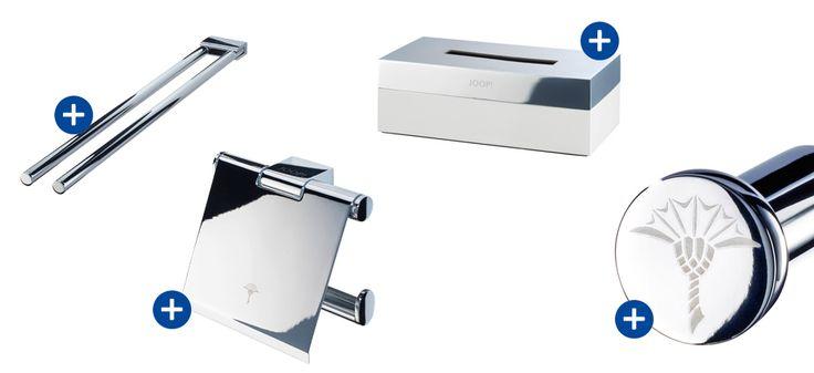 JOOP Handtuchhalter - JOOP Kosmetiktuchbox - JOOP WC-Papierhlater - JOOP Handtuchaken http://www.handtuch-welt.de/Unsere-Marken/JOOP/JOOP-Accessoires/Typ-Handtuchablage/Typ-Handtuchhalter/Typ-Handtuchstange/ http://www.handtuch-welt.de/Unsere-Marken/JOOP/JOOP-Accessoires/Typ-Kosmetiktuchbox/ http://www.handtuch-welt.de/Unsere-Marken/JOOP/JOOP-Accessoires/Typ-WC_Papierhalter/ http://www.handtuch-welt.de/Unsere-Marken/JOOP/JOOP-Accessoires/JOOP-Fixed-Accessories-Handtuchhaken-010760000.html