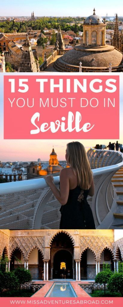 15 Things You Absolutely Must Do In Seville, Spain · Seville, Sevilla, whatever you call it, there's no doubt that this city is one of the most beautiful in the south of Spain. Follow this list of 15 things to do in Seville and you'll fill your says there with amazing flamenco performances, beautiful architecture and scenery in the Plaza de Espana or Alcazar, incredible views from the Seville Cathedral and Metropol Parasol, and amazing food- you wont want to miss these city highlights!
