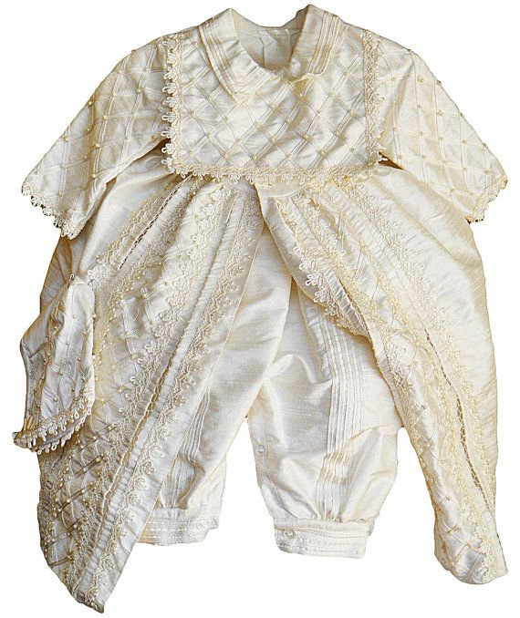 Baby Boy Christening outfit, Spanish Style Gown (ropones para bautizo). Hand Made on Etsy, $98.00