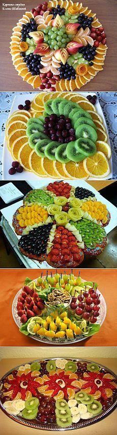 Plateaux fruits