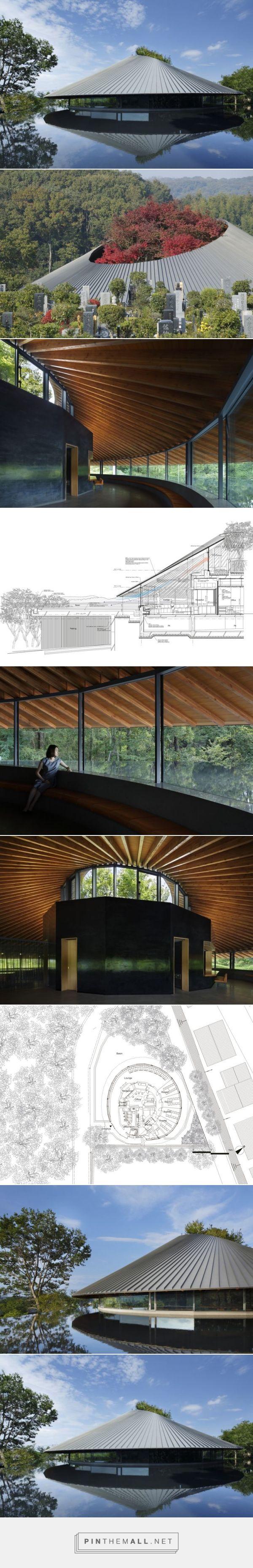 Sayama Lakeside Cemetery Community Hall / Hiroshi Nakamura & NAP | ArchDaily - created via https://pinthemall.net