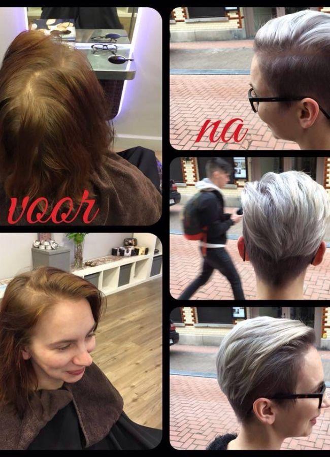 """Stefanie heeft het Lef gehad om haar haar af te knippen…WoW super mooi gedaan vinden jullie niet! """"Bekijk de beste en snelste manier om af te vallen en gezonder te leven"""""""