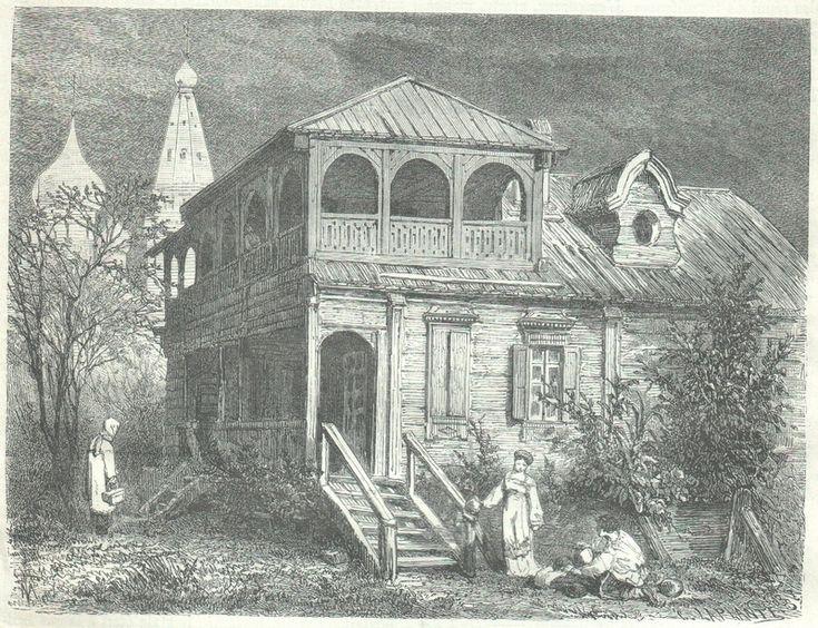 a wealthy merchant's house.