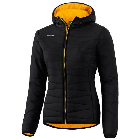 Erima | WINTER JACKET Laufjacke Damen | schwarz-orange | VAOLA