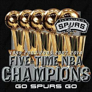 San Antonio Spurs 5-Time NBA CHAMPIONS