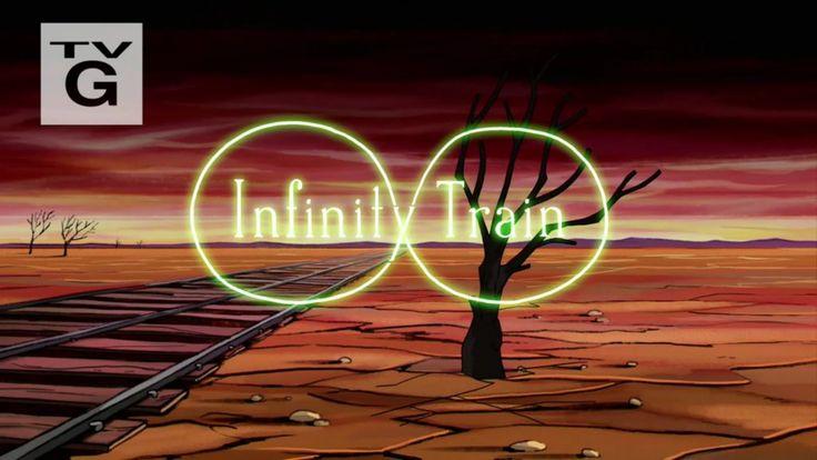 Background design for infinity train Cartoon Network pilot