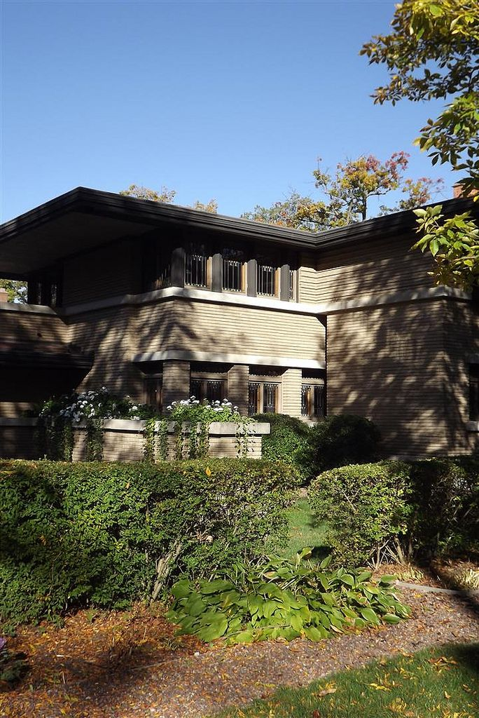 80 best images about frank lloyd wright on pinterest for Frank lloyd wright prairie house