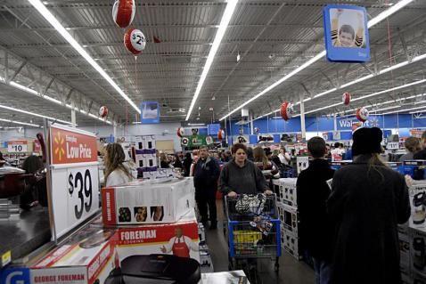 Fekete Péntek a Walmart-ban | Fotó: 123rf.com,  Francis Dean - PROAKTIVdirekt Életmód magazin és hírek - proaktivdirekt.com