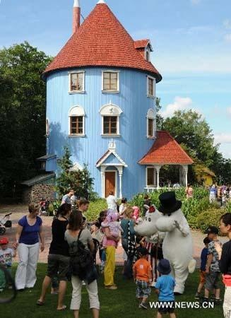 Moominworld: to be honest, there's not a great deal to see and it's really aimed at very young kids. But this didn't stop us going twice and there's lots of good merch in the shop.