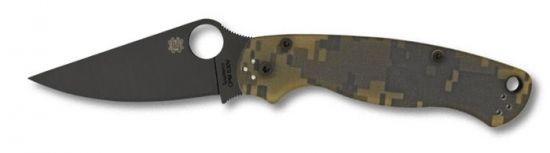 SC81GPCMOBK2 - Spyderco Paramilitary 2 Camo noir