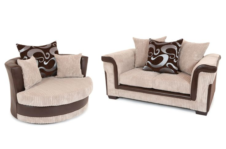 With a contemporary styled design and a striking contrast of textures, shapes and quality jumbo cord fabric, this brand new British made sofa makes a sophisticated addition to any living space. The Carlisle sofa is available as a 2 + swivel cuddle chair set in various colour fabrics for just £449. Tel: 07446824535 (Mon-Sun 9am to 9pm) Tel: 0161 620 6517 (Mon-Fri 9am to 6pm)
