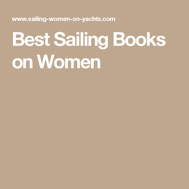 Best Sailing Books on Women