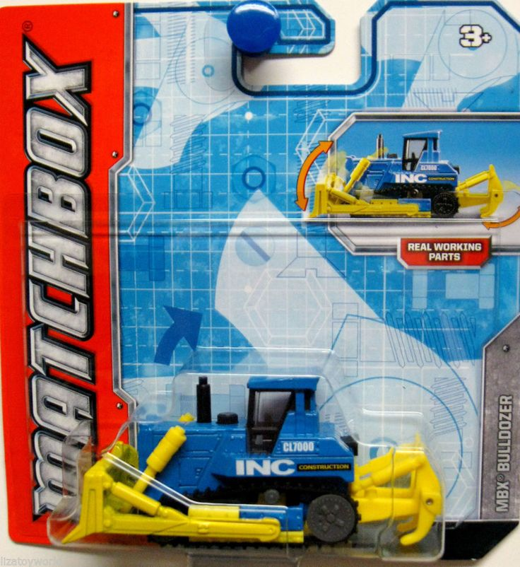2010 Matchbox Real Working Rigs TUCKER SNOCAT Blue T9096
