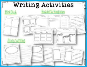 Miss Kindergarten: Writing Activities