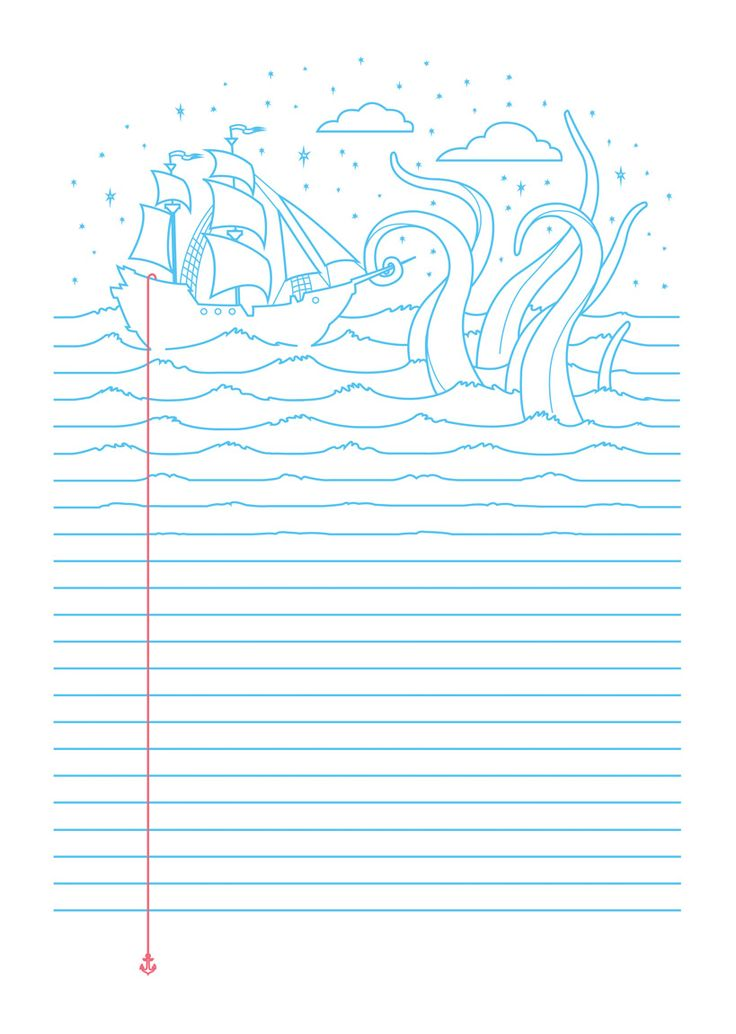 My Minds at sea. Printed on Threadless.com in Aug 2013