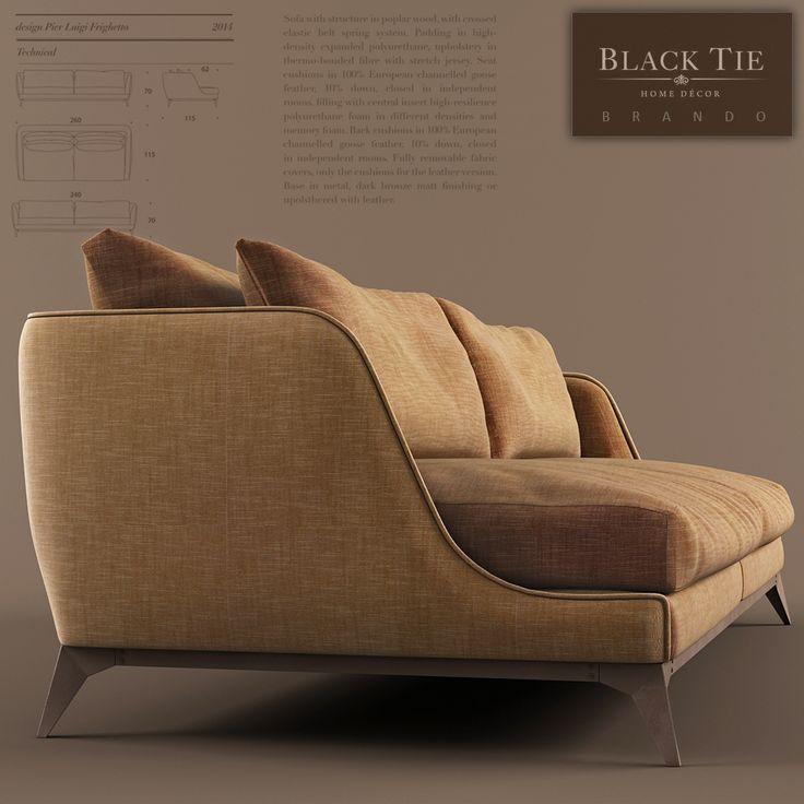 Brando Sofa by Black Tie