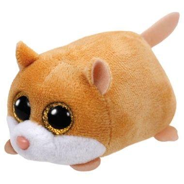 Ty Teeny knuffel Hamster Peewee - 10 cm  Ty Teeny Hamster Peewee is een 10 cm. grote knuffel. Een schattig pluchen hamstertje met grote kraalogen en ideaal om te knuffelen.  EUR 3.99  Meer informatie