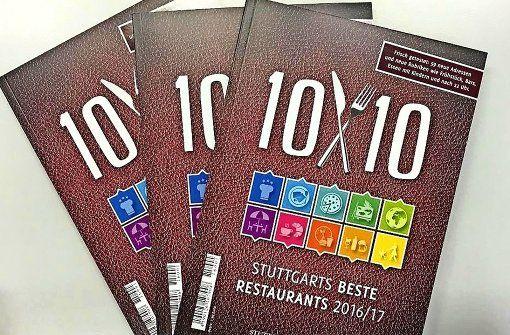 Der Gastroführer 10x10 versammelt Stuttgarts beste Restaurants. Foto: Lichtgut/Achim Zweygarth #stuttgart