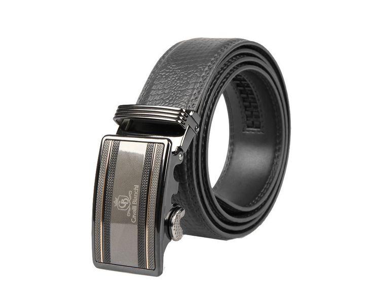 Cavalli Bianchi Men's Fashion Belt-Black