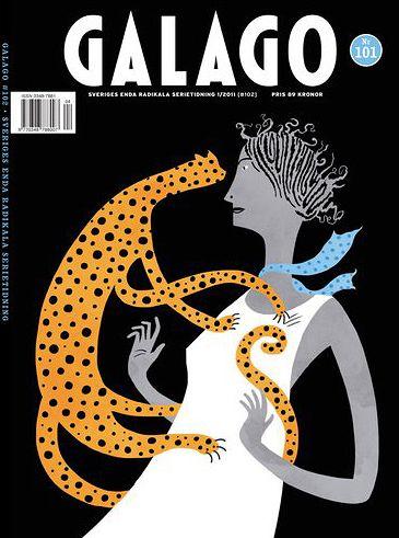 Cover for Galago Magazine, Lilli Carré