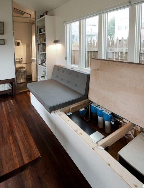 Man Builds Modern 210 Sq. Ft. Tiny Home: Minim Home Photo