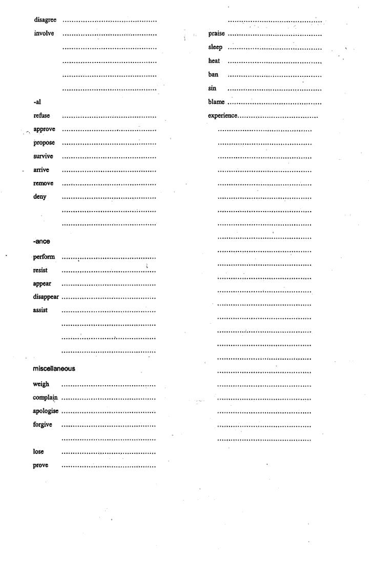 Nominalisation Worksheet - basic, but a good start. Another good sheet is at http://www.tutorvista.com/content/english/english-ii/workbook/nominalisation.php