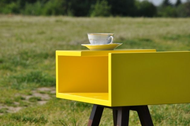 Furniture – Side table AA coffee, shelf by the bed! – a unique product by acoco-style on DaWanda