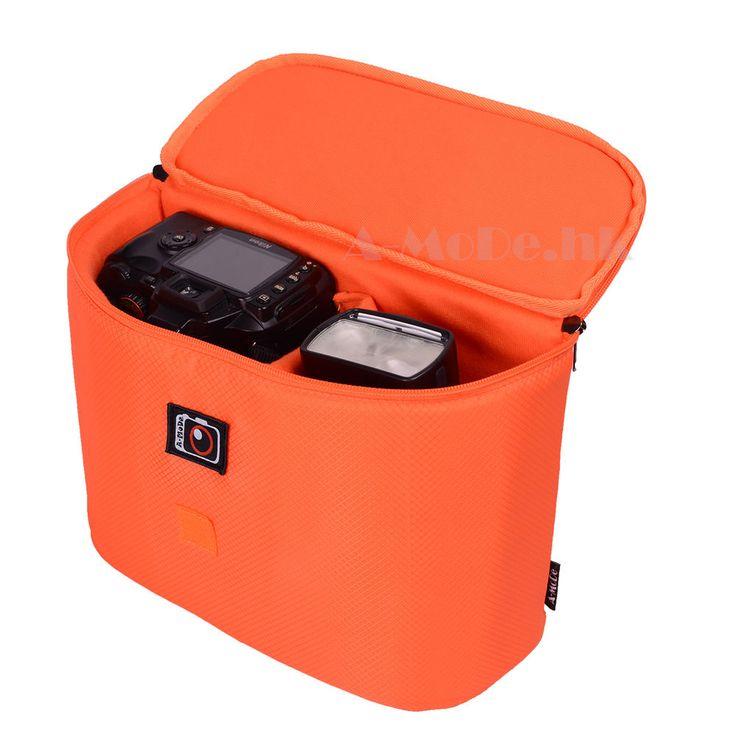 water-resistant camera bag insert for backpack & shoulder bag Sony canon Nikon  #AMoDe