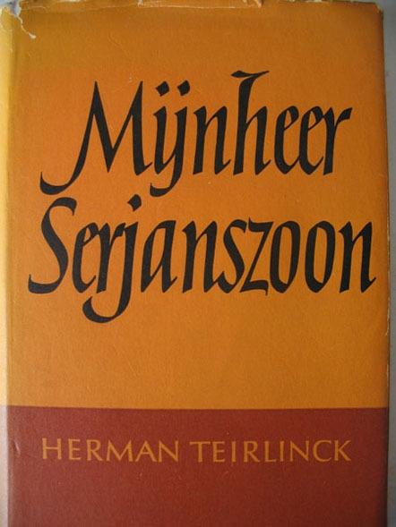 Lettering for book jacket by Helmut Salden via PAGE Online