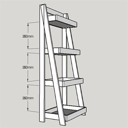 Best 25 etagere echelle ideas on pinterest echelle en bois d co echelle d - Echelle etagere bois ...