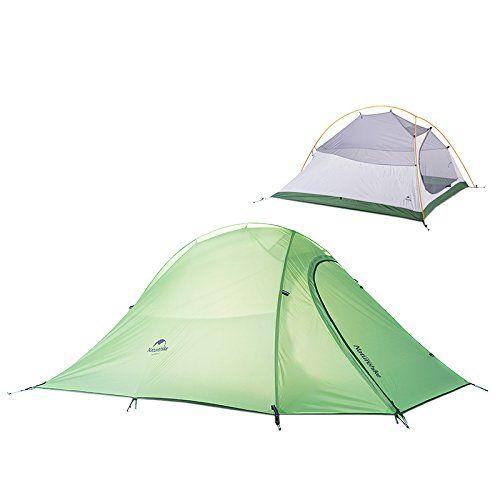 Naturehike 2 Person Outdoor Tent Double-layer Tent Waterproof C&ing Tent Lightweight Tent(Green  sc 1 st  Pinterest & Camping hammock tent hakk?nda Pinterestu0027teki en iyi 20+ fikir ...