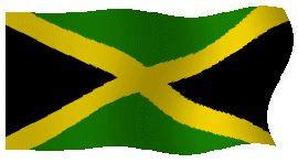 Banderas Animadas de Jamaica. Bandera Animada de Jamaica. Dibujo del emblema nacional. Ilustraciones del simbolo del país. Imágenes para descargar y utilizar en web gratis. Representaciones, representación o ilustración, dibujos o imagen gif animados de Banderas de Jamaica. Himno nacional de Jamaica y Bandera Nacional