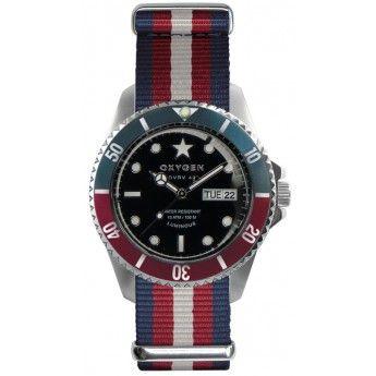 Reloj de hombre y mujer con nueva caja de 41mm http://www.tutunca.es/reloj-unisex-flag-oxygen-corona-bicolor