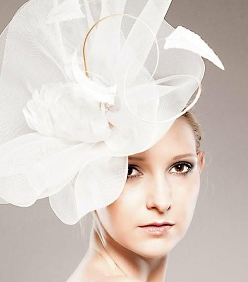 Consider the Season and Setting when Choosing A Hat for Wedding Hairstyle