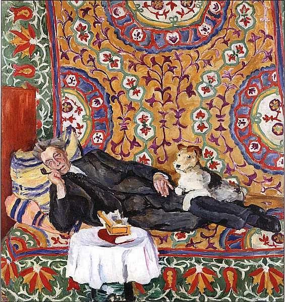 Петр Петрович Кончаловский (1867–1956). Портрет В. Э. Мейерхольда 1938.