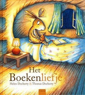 """""""Het boekenliefje"""" Helen Dockerty & Thomas Docherty - prentenboek over en…"""
