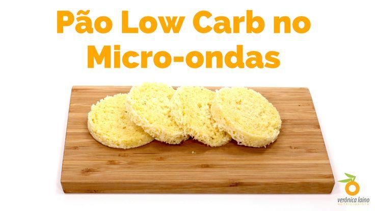 Pão Low Carb no Micro-ondas Tempo de Preparo: 3 minutos   Rendimento: 4 fatias = 1 porção Ingredientes: 1 colher de sopa de manteiga (ou ghee ou óleo de coco ou azeite) 1 ovo 1/2 colher de sopa de farinha de coco 3 colheres de sopa de farinha de amêndoas 1 pitada de sal 1/2 colher de sopa de fermento químico em pó