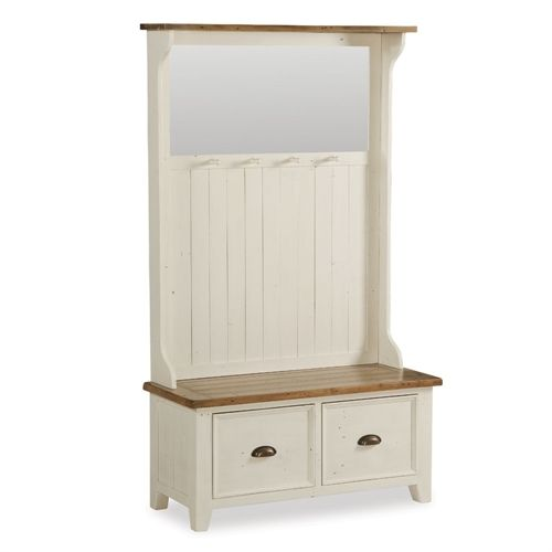 Sherwood Distressed Painted Hallway Unit (X052) with Free Delivery   The Cotswold Company - G2458
