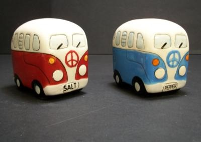 VW salt and pepper shakers
