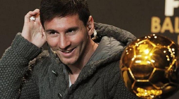 Ops... Messi Pallone d'Oro prima del tempo.. #messi #fenomeno #pallonedoro #campione #barcellona #appreal