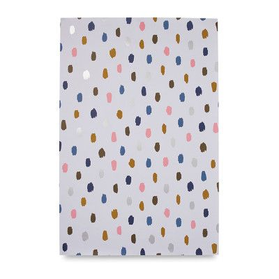 Palette Wrapping Paper with Silver Foil from Citta Design