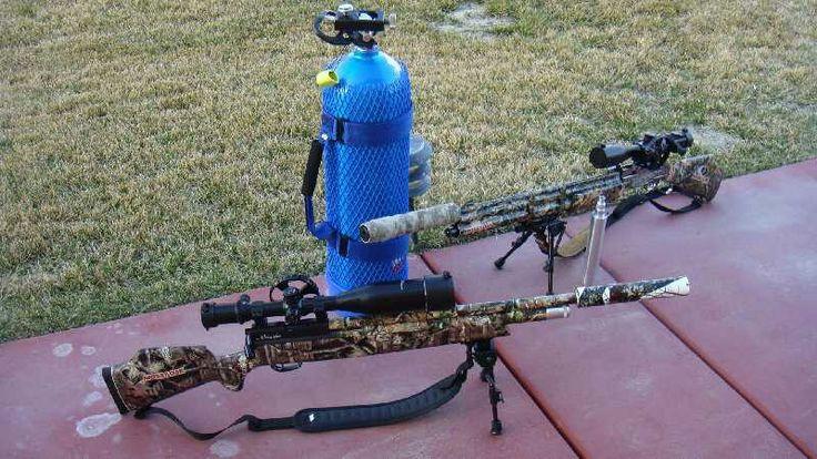 139 Best Pcp Air Rifles Images On Pinterest: Pair Of Custom Benjamin Marauders