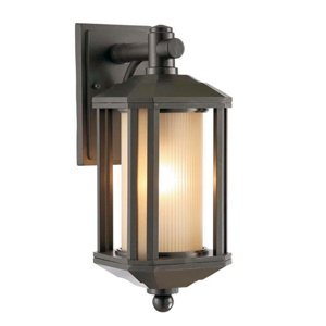 Champlux- Bamboo Outdoor Wall Lamp