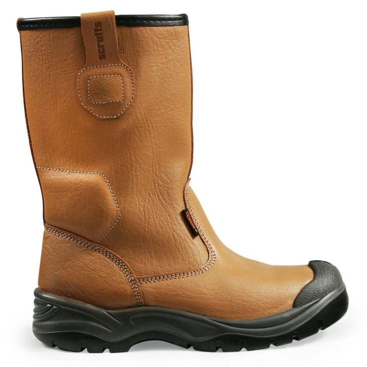Scruffs Gravity Rigger Boots - S1P SRC Safety Footwear